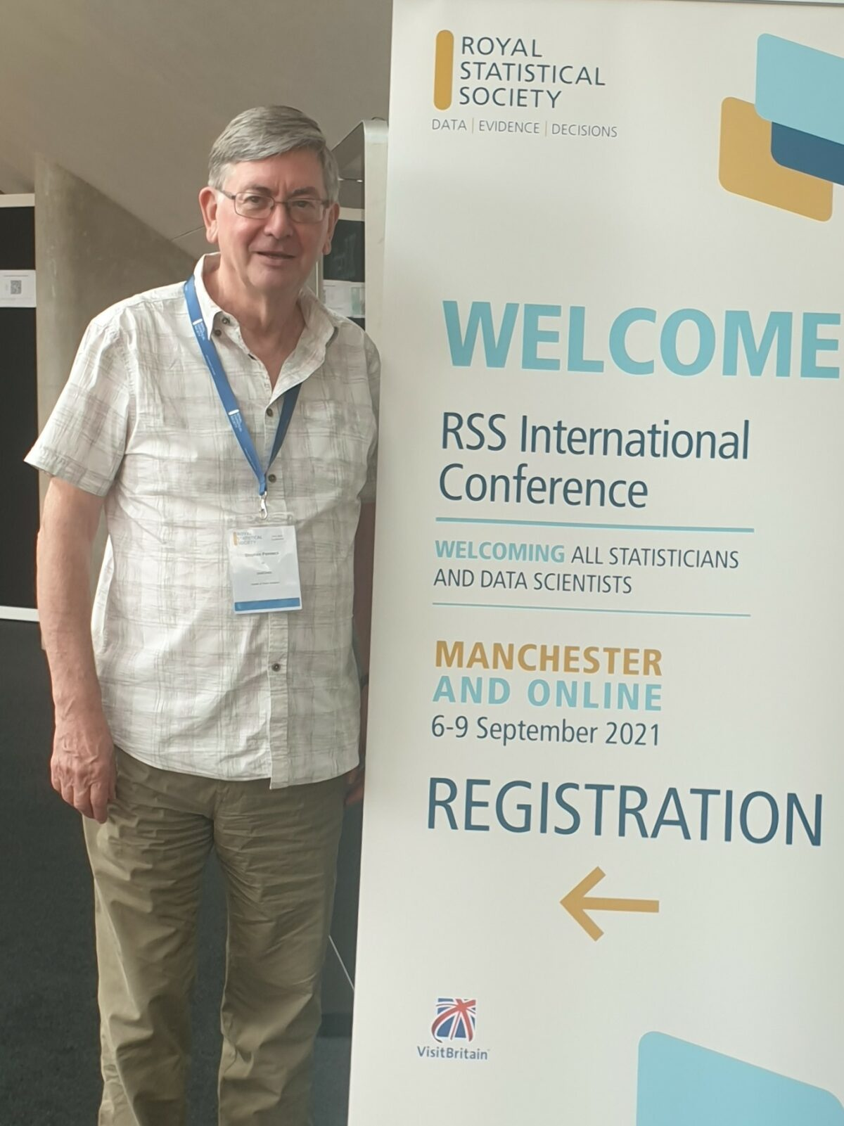 The joy of meeting statisticians!